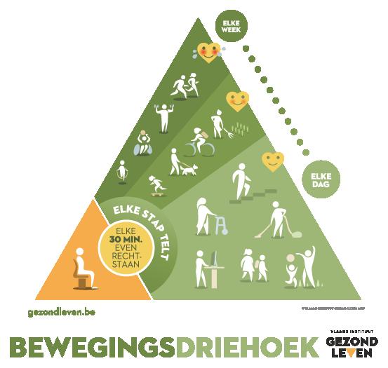 Bewegingsdriehoek | Vlaams Instituut Gezond Leven