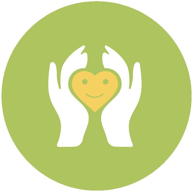 Iconen geluksdriehoek groen Tekengebied 1 kopie 5