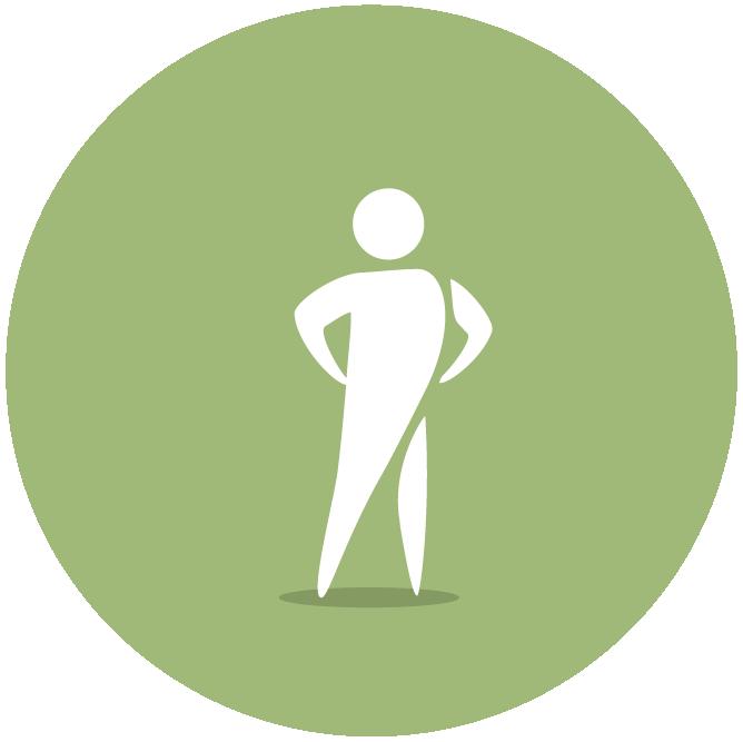 Iconen geluksdriehoek groen Tekengebied 1 kopie