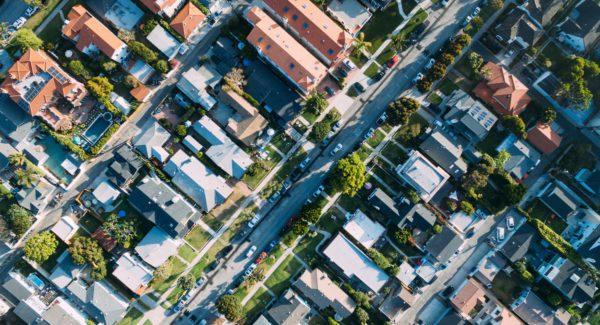 Lucht Foto Wijk