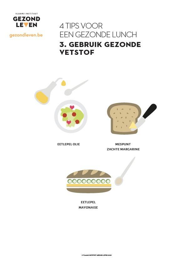 4 Tips Voor Een Gezonde Lunch 3 Vetstof