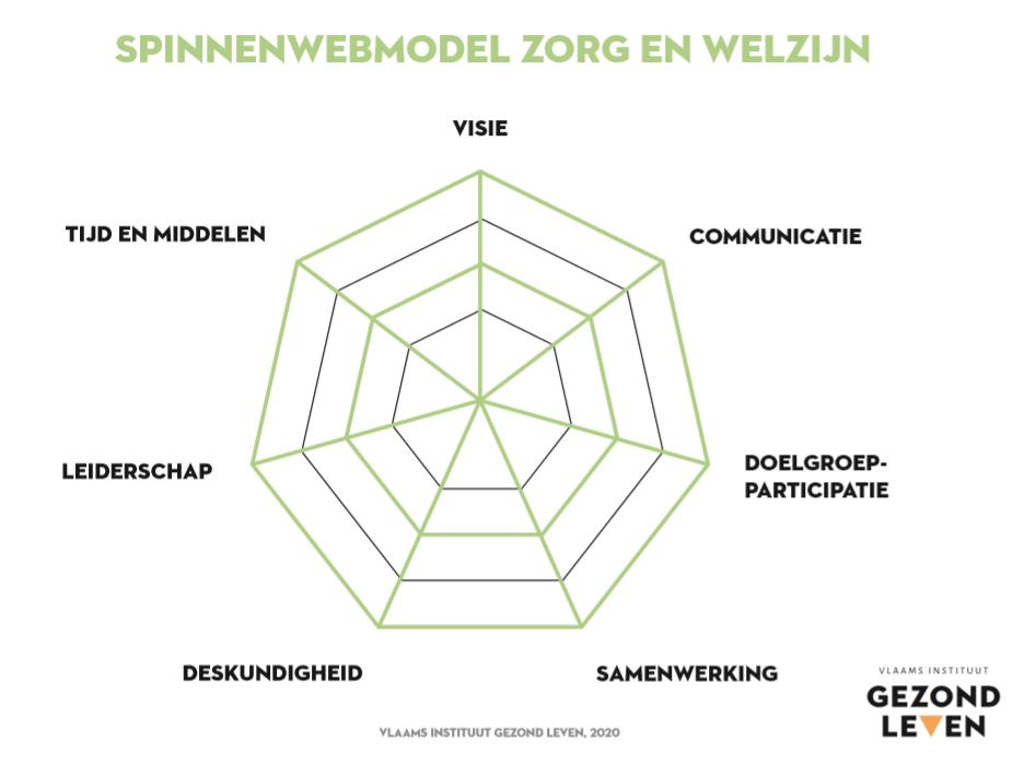 Spinnenwebmodel Zorg En Welzijn